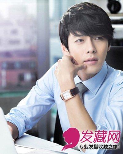 导读:赵寅成李俊基示范 今季流行的韩式男生发型 自然碎 短发 玄彬的图片
