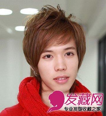男生短发烫发发型图片 气质男生短发烫发(5)
