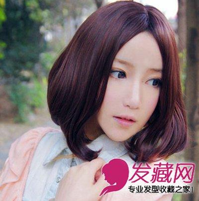 2015流行女生发型 短发梨花头最显气质(7)