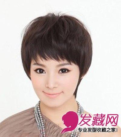 最新女生短发发型图片 小清新最流行(3)图片