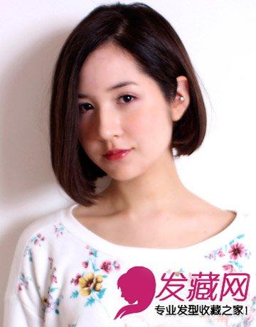 选对发型秒变可爱娃娃脸 →鹅蛋脸发型的正确打开方式 鹅蛋脸适合短发