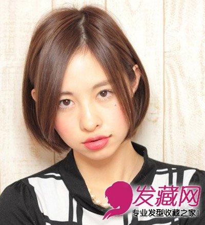 宽脸适合什么发型 蓬松短发发型图片(7)图片