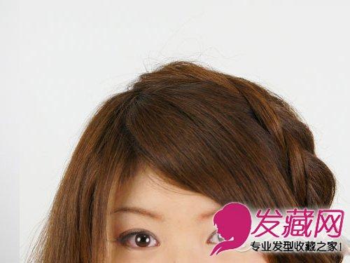 编发发型的甜美度 →韩式编发公主头发型 清甜扎发萌妹必学   时尚