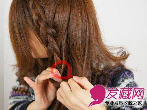 编发发型的甜美度 →韩式编发公主头发型 清甜扎发萌妹必学 →秋季