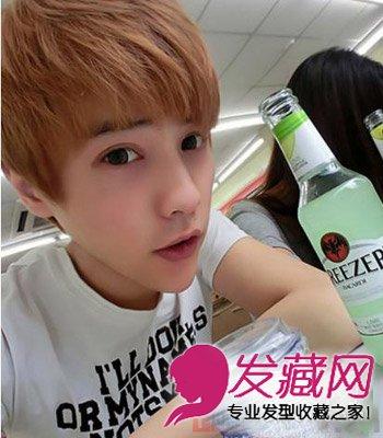 最新韩国齐刘海发型 塑阳光帅气型男(3)图片