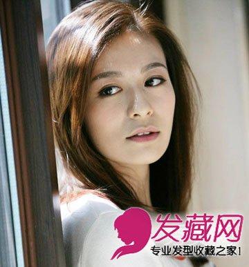 2015流行发型图片 齐肩发浪漫清新(4)