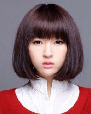 OL知性短发发型推荐 齐刘海诚博娱乐平台发型