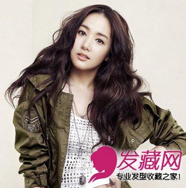 胖圆脸最新发型设计 韩式卷发美腻修颜(6)图片