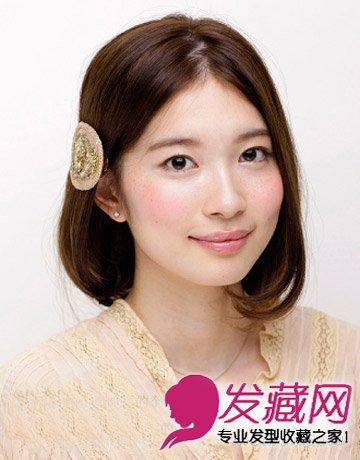 中分短发发型 圆脸mm都很适合这样的短发(7)