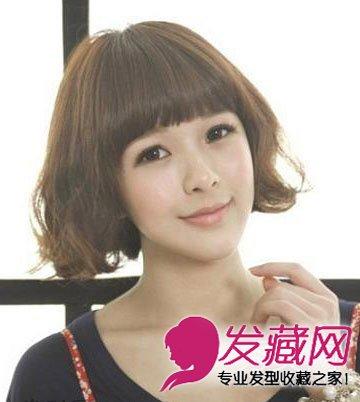 可爱的双马尾扎发发型图片 轻松告别胖圆脸(9)