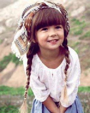 百变儿童发型PK 俏皮可爱变萌妹子