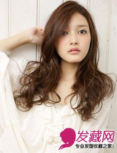 头型与发型设计 柔美的长卷发发型(8)