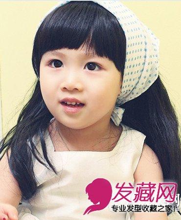 【图】小女孩发型设计