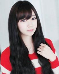 2015年韩国女生发型 长发最受欢