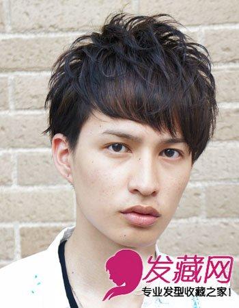 2015春夏男生发型 日式短发男生发型设计(7)