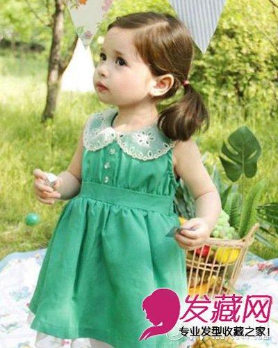 【图】小女生发型 打造活泼可爱小公主(4)
