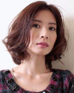 高颧骨菱形脸发型_