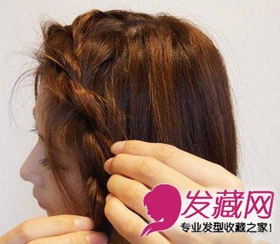 刘海编发教程图解四