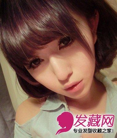 2015清爽个性女生短发发型 时尚减龄最流行(2)