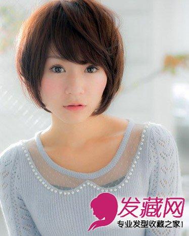 > 头型与发型设计 柔美长卷发拉长了脸部线条(10)  导读:蓬松的短发闪