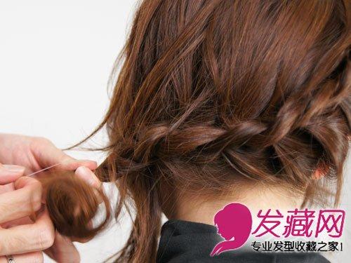 【图】韩式编发扎发发型
