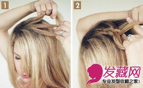 图解甜甜圈盘发器的使用方法 好看丸子头花 →太神奇!