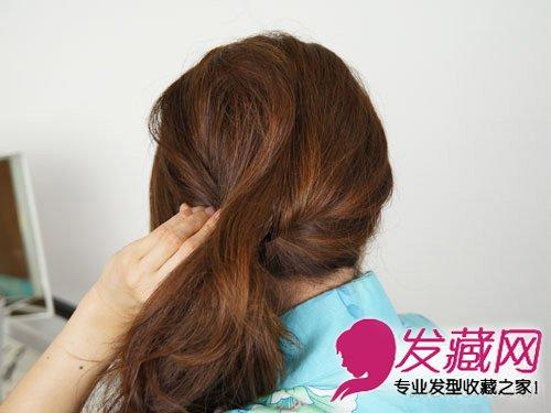 中长发怎么扎好看 青春气息简单马尾发型扎发(6)