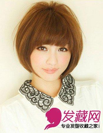彰显青春活力 波波头发型图片设计(2)图片