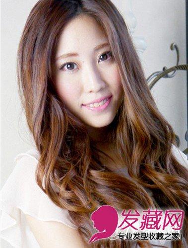 ... 女生电发发型图片 尽显妩媚性感(7)_时尚发型_发藏网
