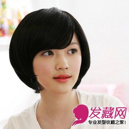 女生假发发型图片 打造精致时尚淑女