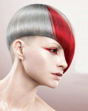 回顾沙宣发型设计 创意发型融合直发和卷发元素