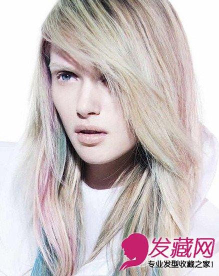 个性短发发型 女生子弹头发型彰显彩色绚丽 →回顾沙宣发型设计 创意