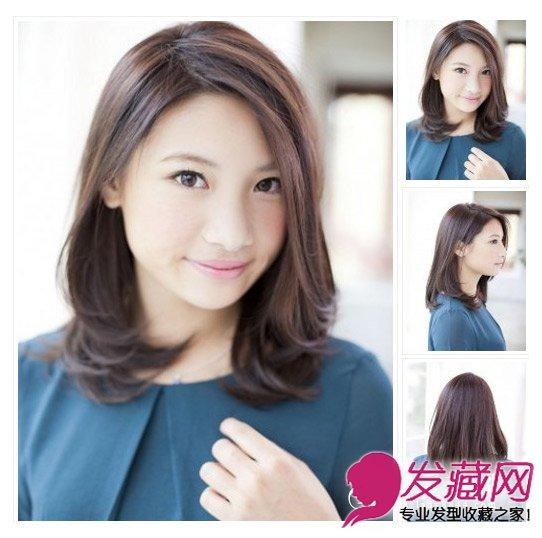 style12:侧分中长梨花头   发型点评:这款梨花头比较适合30+的气质熟女,侧分斜刘海翻转出浪漫的弧度,内扣梨花头简约清新,让你彻底告别累赘感。