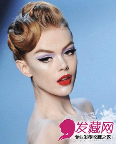 欧美范发型设计 轻松打造女王气质