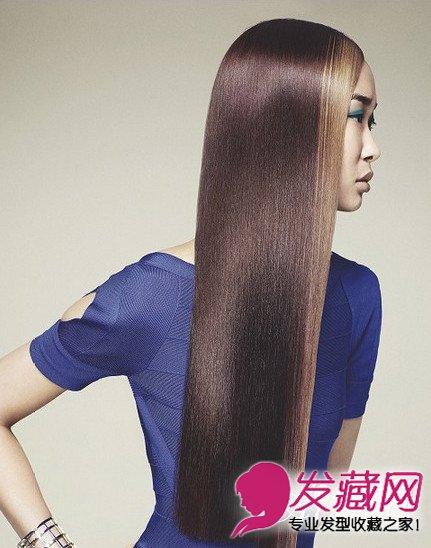精选沙宣发型颜色 女生沙宣发型柔顺发丝显魅力图片