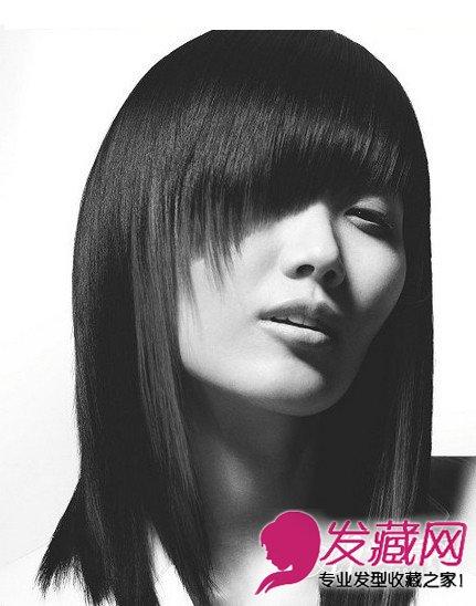 精选沙宣发型颜色 女生沙宣发型柔顺发丝显魅力(6)