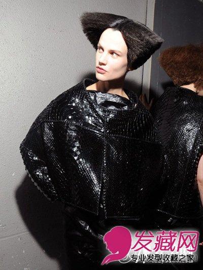张扬青春另类发型 另类蘑菇头发型图片(5)