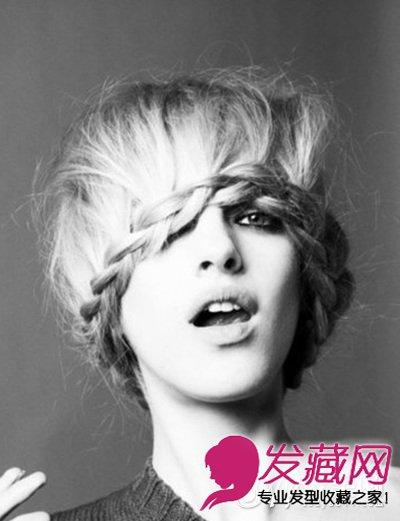时尚发型 > 张扬青春另类发型 另类蘑菇头发型图片(7)  导读:气质编发