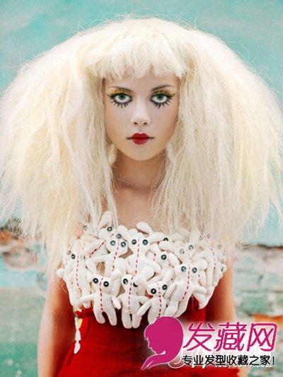 张扬青春另类发型 另类蘑菇头发型图片(8)