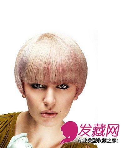蘑菇头短发发型图片 修颜减龄的蘑菇头短发发型造型(2)