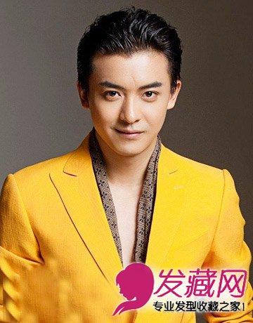 充满职场范男生短发型 时尚阳光惹人爱(2)