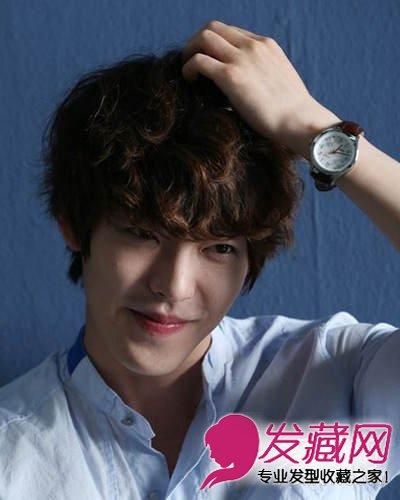 金宇彬发型图片 时尚的男生短发发型(8)图片