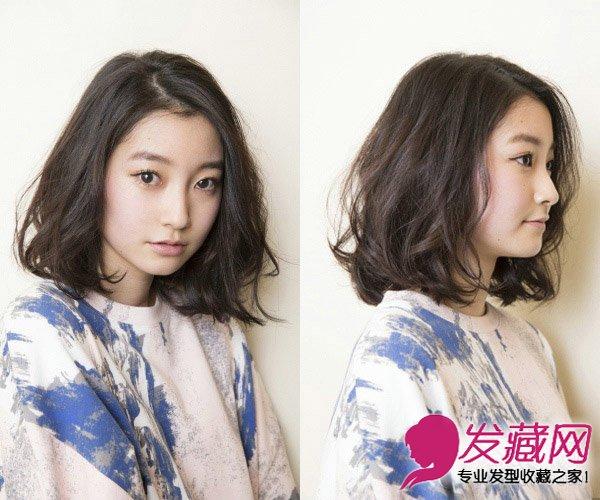 女生中短发发型 16款清新中短发超流行(9)图片