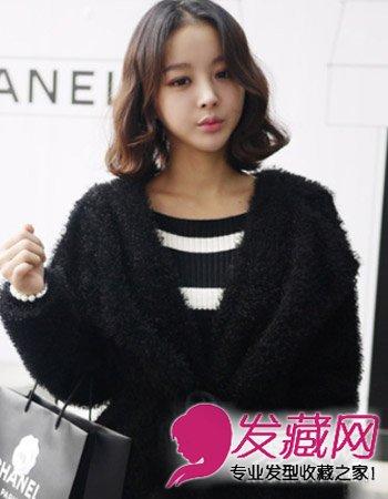 韩式短发发型图片 女生清新又淑女雅致(4)图片