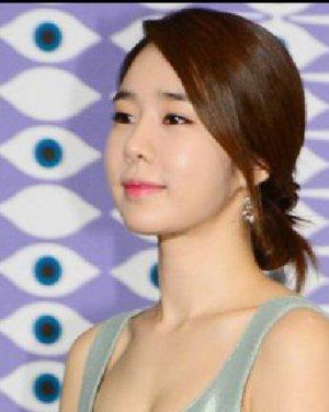 韩式简单盘发发型图片 清晰减龄气质足