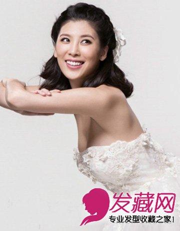 2015最美新娘发型 披肩发婚纱下最浪漫(2)图片
