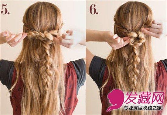 【图】超唯美法式大辫子发型 时尚辫子女郎(4)_编发