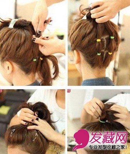 短发怎么扎丸子头 时尚丸子头简单扎发发型(5)