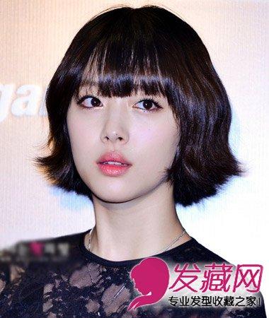 2015女生韩式短发发型 时尚mm早春必备(4)