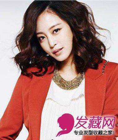 【图】齐刘海图片烫发钢琴短发头型v图片发型女图片